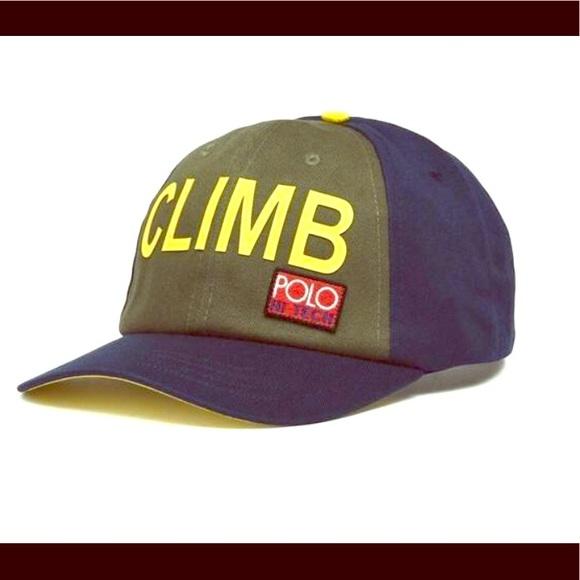c0ca823f46ace Polo Ralph Lauren Hi Tech Climb hat. NWT